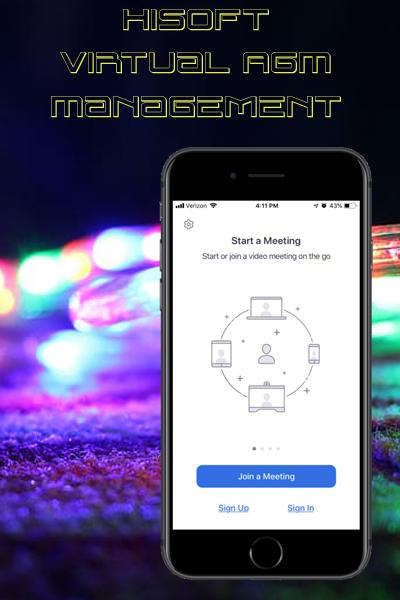 HiSoft Virtual AGM Management